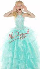 Mac Duggal (sugar) Girls Pageant Dress Size 6/8