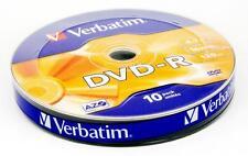 CAMPANA 10 DVD-R VERBATIM 4,7GB 16X COD. 43729 120MIN VERGINI VUOTI DVD