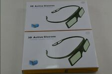 2 X RF3D Active Glasses Substitute AU 2015 Sony 3D TV and TDG-BT500A TDG-BT400A