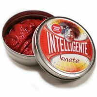 Pasta Intelligente Knete Thinking Putty Elettrica Rosso Fuoco MULTIPLAYER