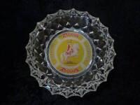 Rössli Cigares Verre Cendrier - Vintage - Poids 1 KG