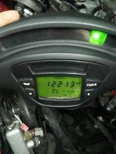 Piaggio X9 Tacho Kombiinstrument LCD Bordcomputer Display Tachometer 24561km