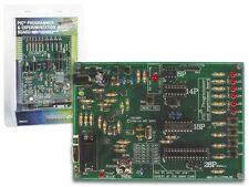 CARTE PROGRAMMATEUR MICROCONTROLEUR MICROCHIP FLASH PIC  AVEC LOGICIEL ET CABLE
