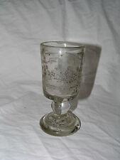 jewish judaica kiddush kidush  glass cup  for sukot new hand engraving