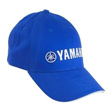 Yamaha Essential Hat in Yamaha Blue w/ White Trim - One Size - Genuine Yamaha