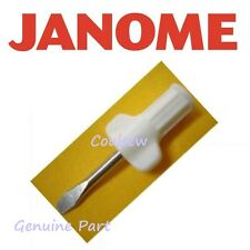 JANOME GENUINE SMALL NEEDLE PLATE WING SCREWDRIVER  820832005 HANDY TOOL