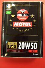 MOTUL Classic Oil 20W-50 2-Liter(6,50€ pro Liter)Oldtimer-Motoröl  Bj.1950-1970