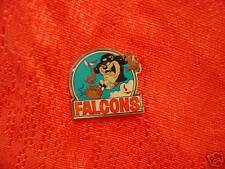 Atlanta Falcons Looney Tunes Tasmanian Devil Pin NFL