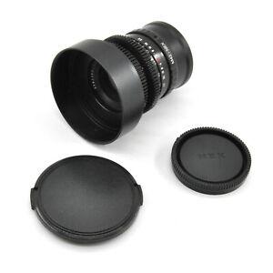 CLA'd Pentacon 30mm F3.5 Cine Mod Lens For Sony E-Mount (NEX)!