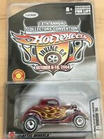 Hot Wheels 2004 18th Collectors Convention 3-Window '34 in Protecto