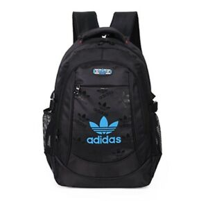 Adidas Sports Backpack - Black/Blue (Brand New)