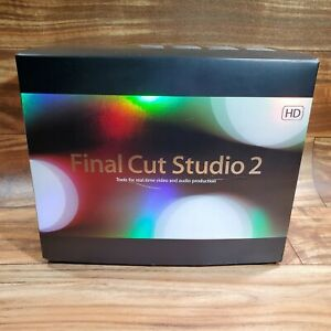 Apple Final Cut Studio 2, Final Pro 6 - In Box - Very Good Condition