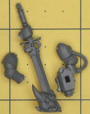 Warhammer 40K Space Marines GRIS CHEVALIERS Marine Nemesis Force Sword (E)