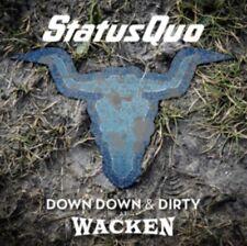 Status Quo - Down Down & Dirty At Wacken NEW CD + DVD