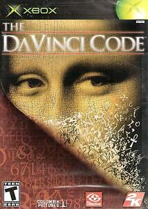 The Da Vinci Code 2006 Microsoft Xbox Video Game Teen Action Adventure Puzzle