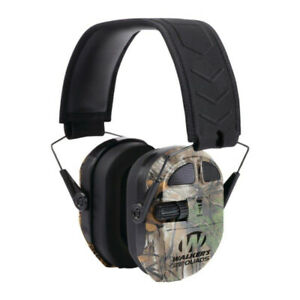 Walker's Ultimate Power Muff Quads with AFT (Realtree Camo) Hearing Protection