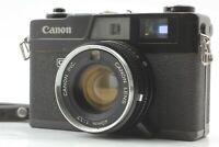 【Excellent+++++】 Canon Canonet QL17 Black Rangefinder Film Camera form Japan 355