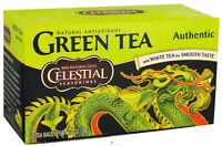 Celestial Seasonings Authentic Green Tea 20 ea (Pack of 3)