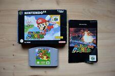 N64 - Super Mario 64 - (OVP, mit Anleitung)