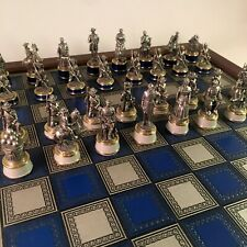 Franklin Mint Civil War Chess Set Excellent Condition - Free Shipping