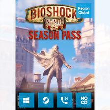 Bioshock Infinite Season Pass DLC for PC Game Steam Key Region Free