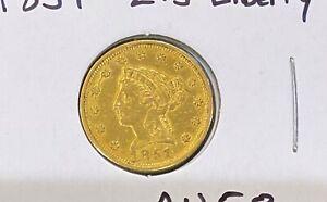 1851 $2.5 Gold