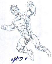 Green Lantern: Kyle Rayner - 2006 Signed art by Chris Ivy