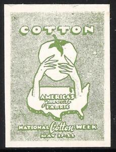 1948 National Cotton Week