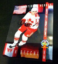 MARK RECCHI 1994 Classic Pro Prospects INTERNATIONAL HEROES Clear SP LP24 Rare