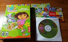 Dora the Explorer : Animal Adventures - PC CD Computer game