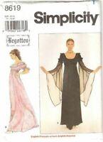 Simplicity Sewing Pattern 8619 Misses Begotten Dress Size 4-8 Uncut