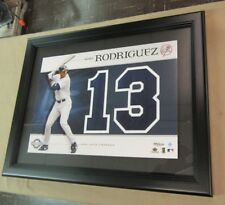 Alex Rodriguez Upper Deck Yankees Framed #13 Jersey Numbers Collection 145/200