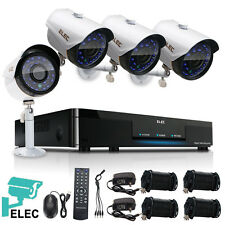 ELEC 8CH 1080N 2000TVL AHD DVR In/Outdoor Video CCTV Home Security Camera System