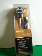 New Taylor Connoisseur Series Digital Wine Thermometer *F & *C Switchable