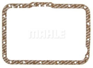 Mahle For 87-93 Ford Mustang Auto Trans Oil Pan Gasket Cork Metal Carrier