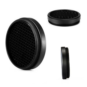 Optic Scope 44mm Sunshade Protective Anti-Reflection Mesh Cover