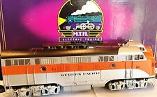 MTH MT-2056LP O-Scale Western Pacific EMD F-3 AA Diesel 3-Rail Set w/Proto-Sound