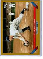 Lou Gehrig 2019 Topps Archives 5x7 Gold #281 /10 Yankees