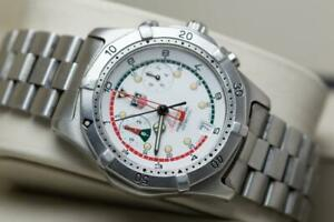 Tag Heuer Gents Searacer Wristwatch Reference CK111R Ready To Wear