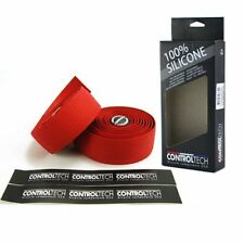CONTROLTECH Silicone Road Bike Bar Tape , Red
