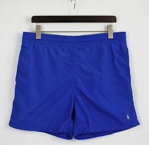 POLO BY RALPH LAUREN Men's SMALL Nylon Shell Mesh Lined Swim  Shorts 28016-JS