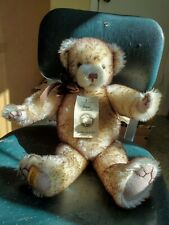 Merrythought Mohair Growler Jointed Teddy Bear, Made In England.