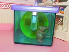 Vintage Littlest Pet Shop Kenner 1992 Hamster Cage Spinning Wheel Water Bottle
