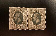 1912 Intl Exhibition 1d Grey Green Pair