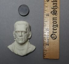 Frankenstein Monster Resin Cabochon Relief Sculpt for Jewelry Crafts Goth