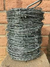 Barbed Wire Fencing 330 ft. 15-1/2-Gauge 4 Point Galvanized Barb