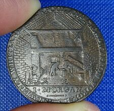 More details for wales, carmarthen, conder halfpenny 1795. morgan's ironworks. good.
