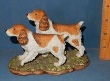 Cocker Or Springer Spaniel Dog Ceramic Figurine Home Interiors 2001