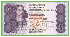 SOUTH AFRICA - 5 RAND - 1989 - 1990 - P-119d - UNC - REAL FOTO
