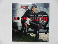 CD  single JOHNNY HALLYDAY Quand le masque tombe 9838207